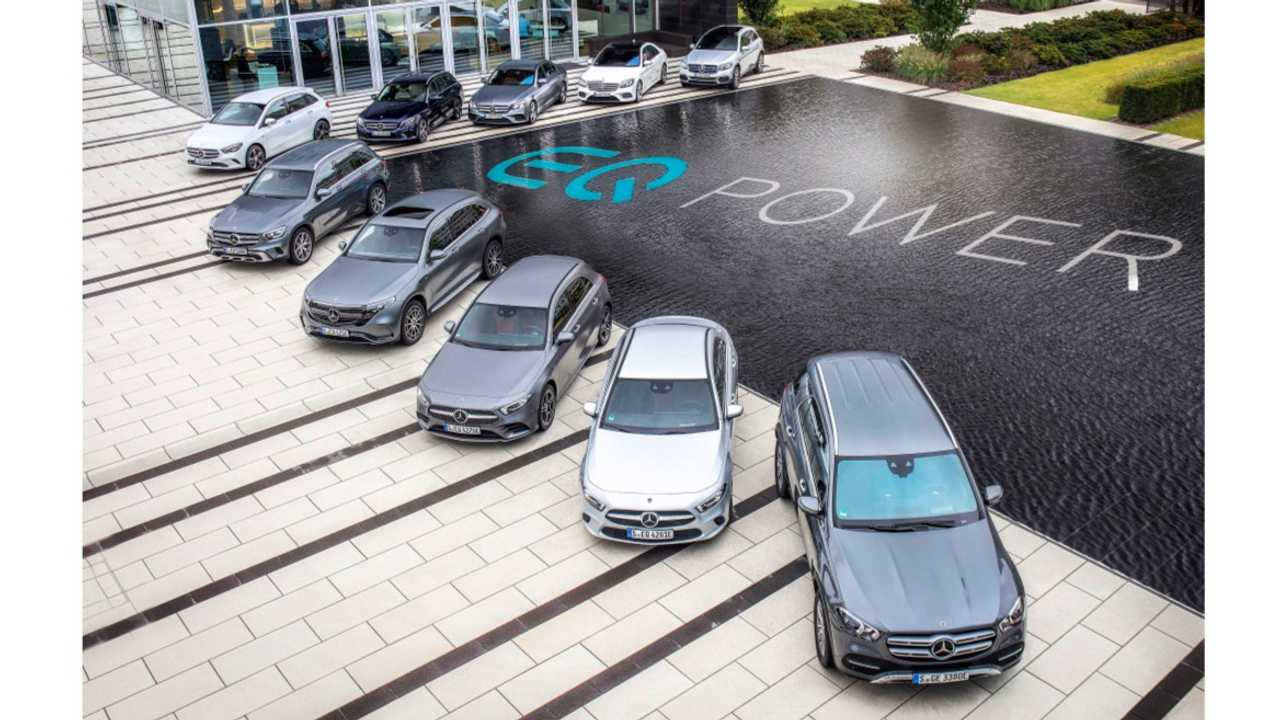 Mercedes-Benz plug-in hybrid models, from A-Class to GLE