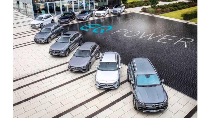Mercedes-Benz to launch 20 PHEVs by the end of 2020