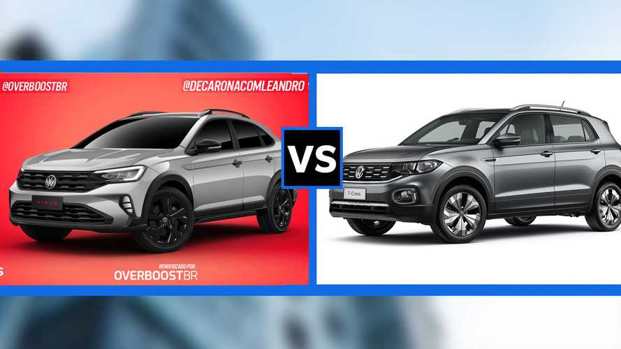 Novo VW Nivus x T-Cross: vale a pena esperar pelo crossover-cupê?