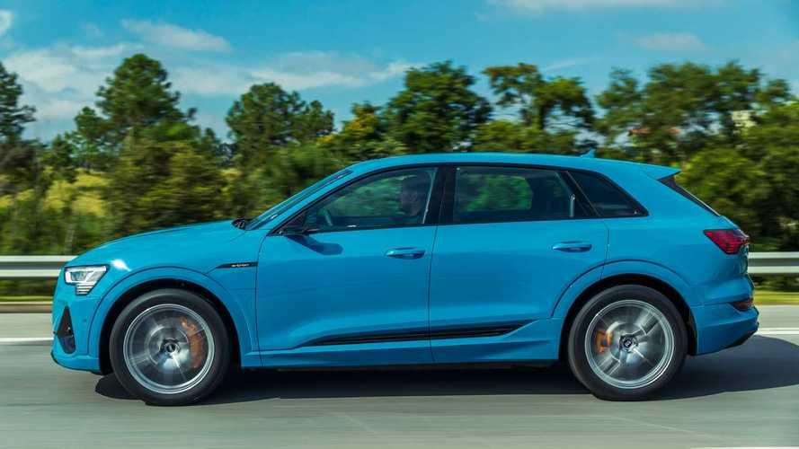 Já disponível no Brasil, Audi e-tron fica mais barato e equipado nos EUA