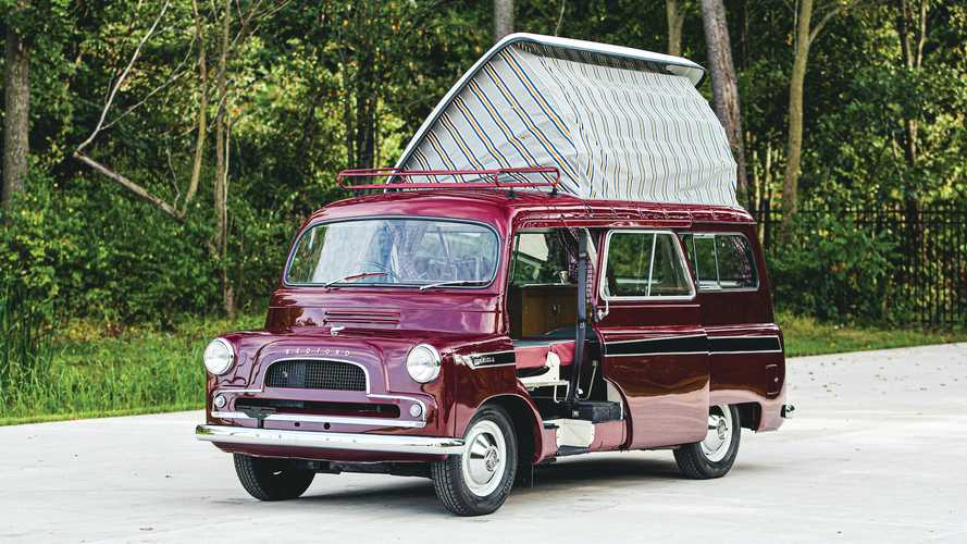 1961 Bedford Dormobile Is A Cool Retro British Camper For Sale