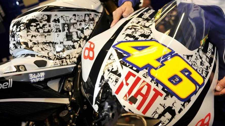 Valentino Rossi, le 5 livree uniche più belle della sua carriera