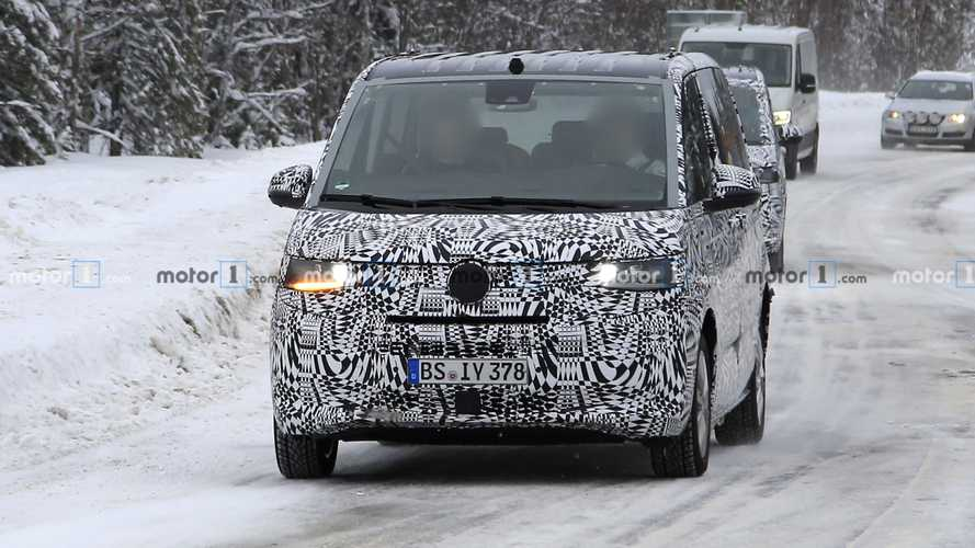 "Volkswagen T7 Multivan, le foto spia ""defnitive"""