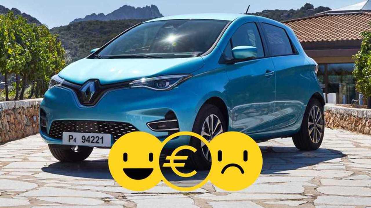 La Renault Zoé à 169 €/mois