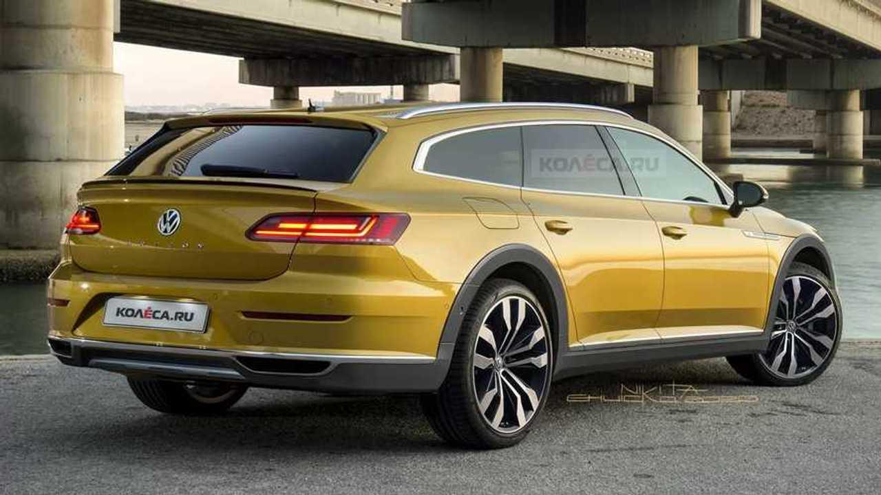 Volkswagen Arteon Variant 2020, render