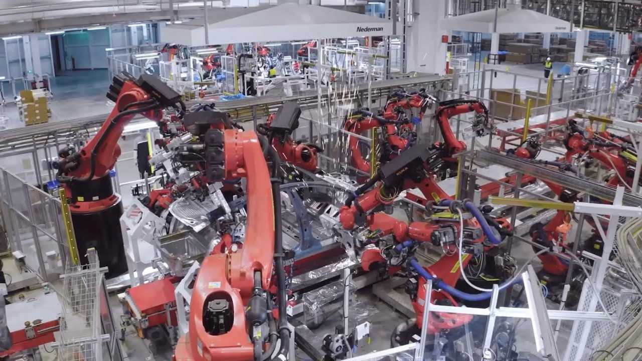 Tesla Gigafactory 3 - hivatalos (forrás: JayinShanghai)