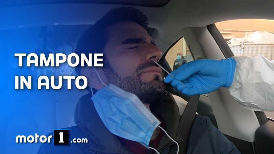 Come si fa il tampone Coronavirus in auto, la nostra esperienza a Roma