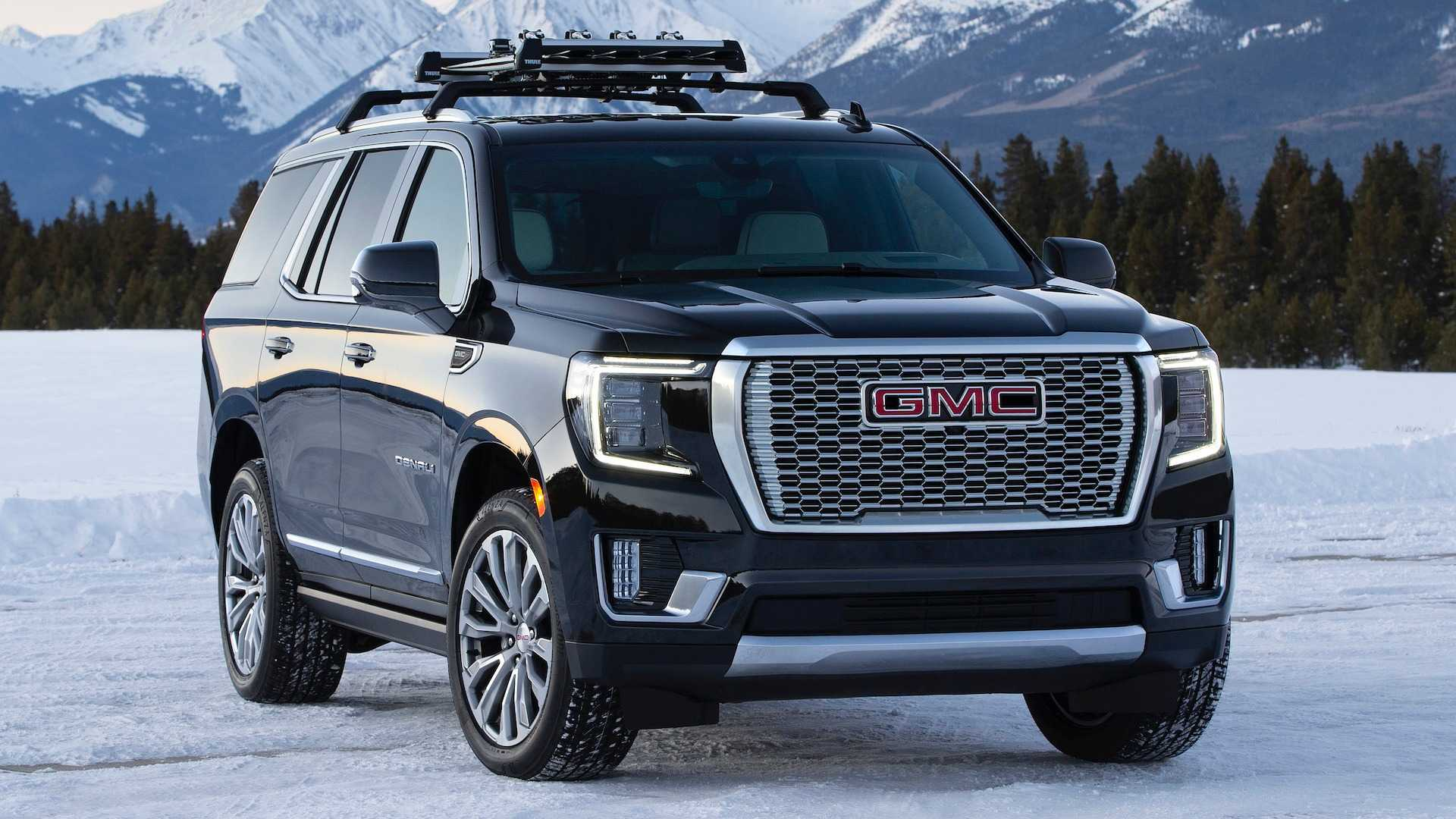 2021 gmc yukon hurricane turn lets big suv spin in place 2021 gmc yukon hurricane turn lets