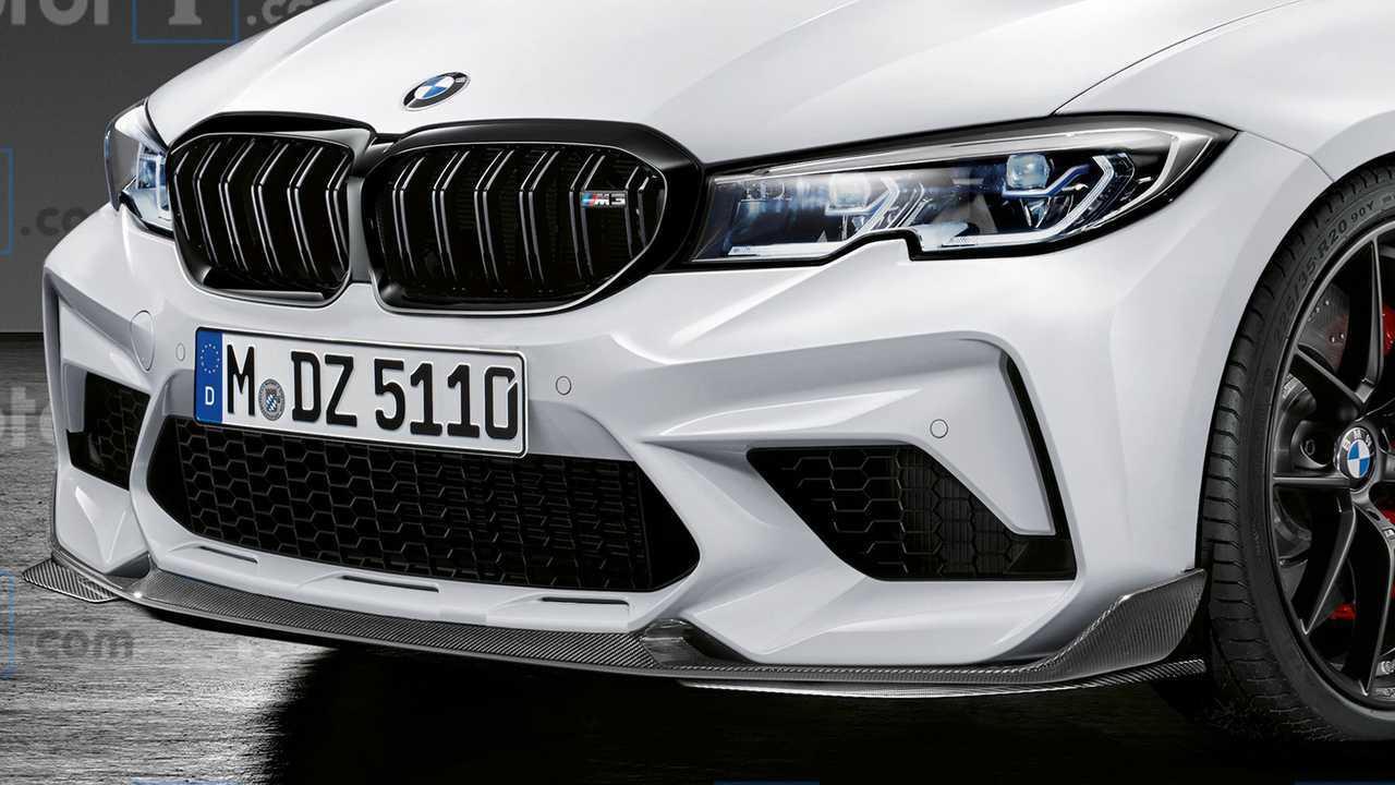 BMW M3 Rendering