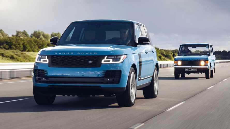 Юбилейный Range Rover подорожал в России до начала продаж