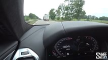 Manhart BMW M8 Competition on Autobahn