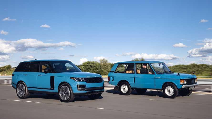 DIAPORAMA - 50 ans de Land Rover Range Rover, le 4x4 qui a changé les 4x4