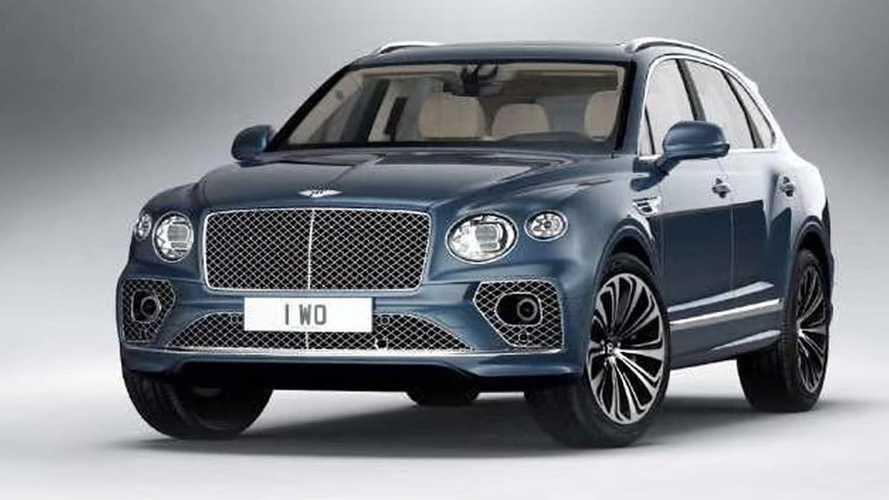 2021 Bentley Bentayga facelift leaked official images