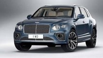 Bentley Bentayga (2020), le foto rubate del restyling