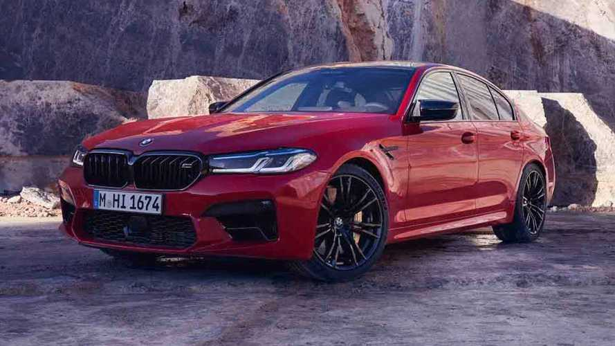 Here's the BMW M5 CS before you're supposed to see it