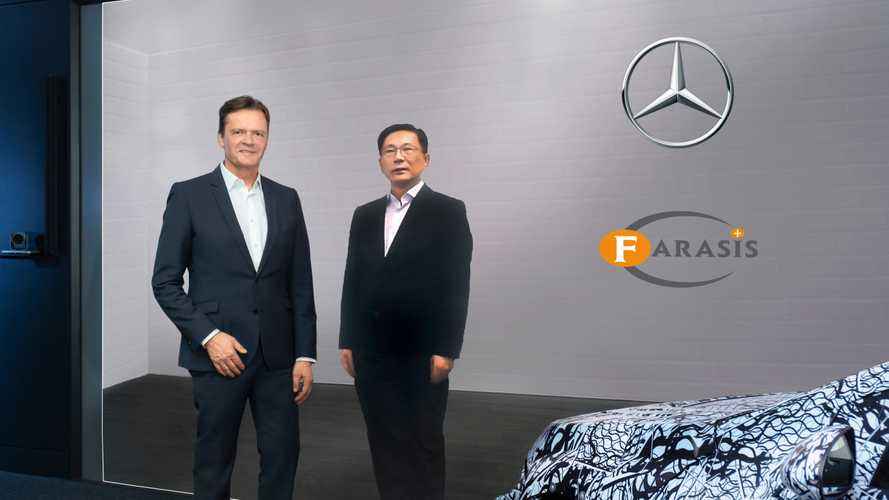 Mercedes-Benz announces strategic partnership and equity stake in battery cell manufacturer Farasis