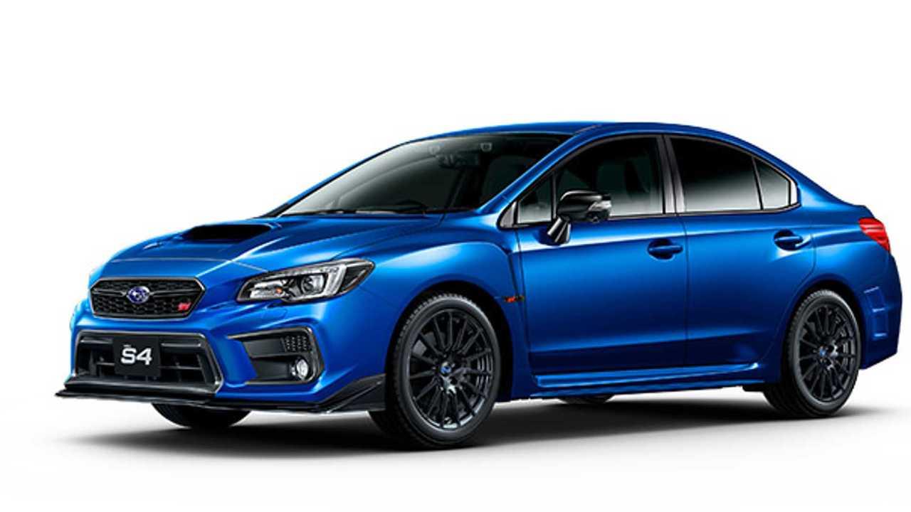 Subaru WRX S4 STI Sport Sharp para Japón