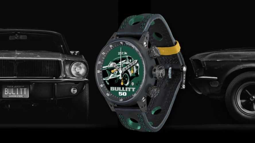 Bullitt Mustang watch launched to raise money for charity