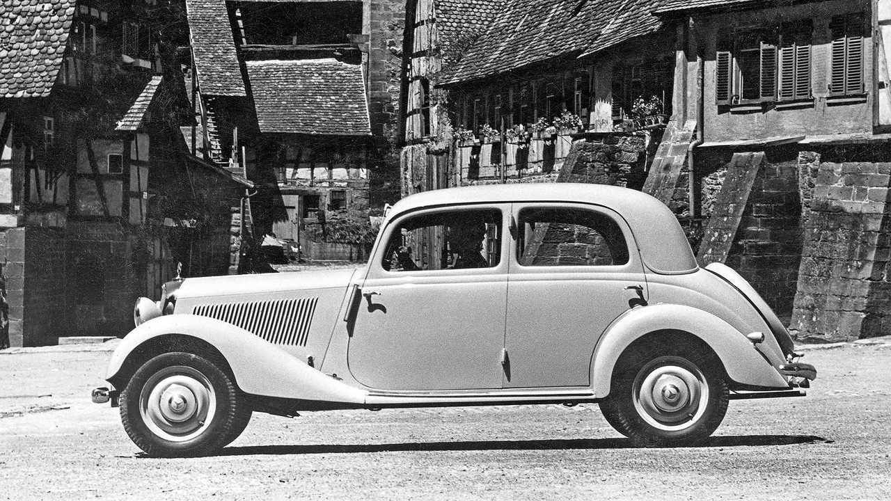 1947 bis 1955: Mercedes-Benz 170 V bis 170 DS (W 136/W 191)