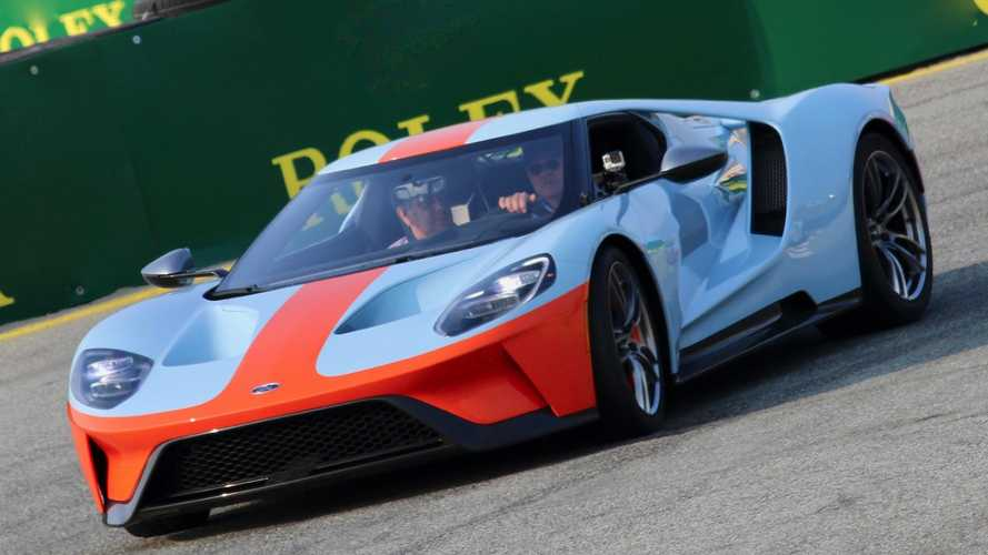 Ford and Gulf reunite for special Ford GT '68 Heritage Edition