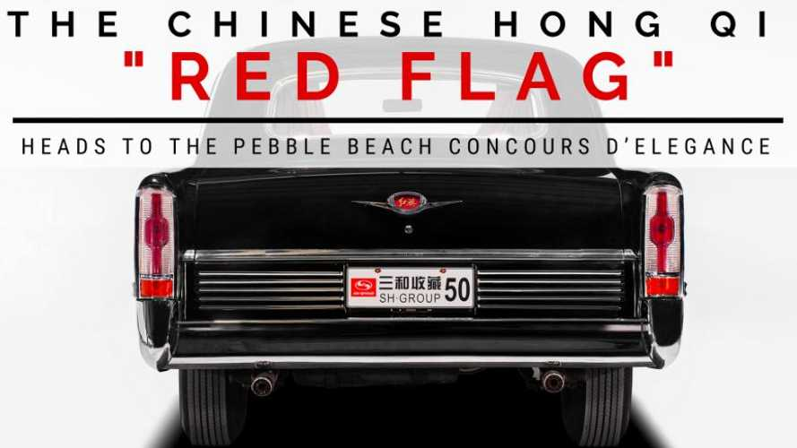 Hong Qi Chinese limousines set for Pebble Beach