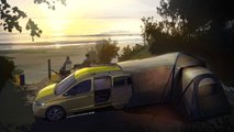 VW Mini-Camper, i teaser dell'erede di Caddy Beach