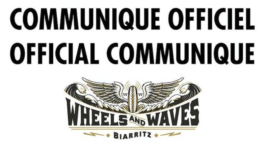 Wheels and Waves: definitivamente cancellata l'edizione 2020