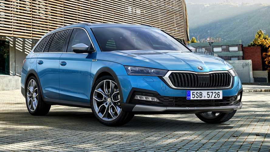 2021 Skoda Octavia Scout lifted estate debuts as the SUV alternative