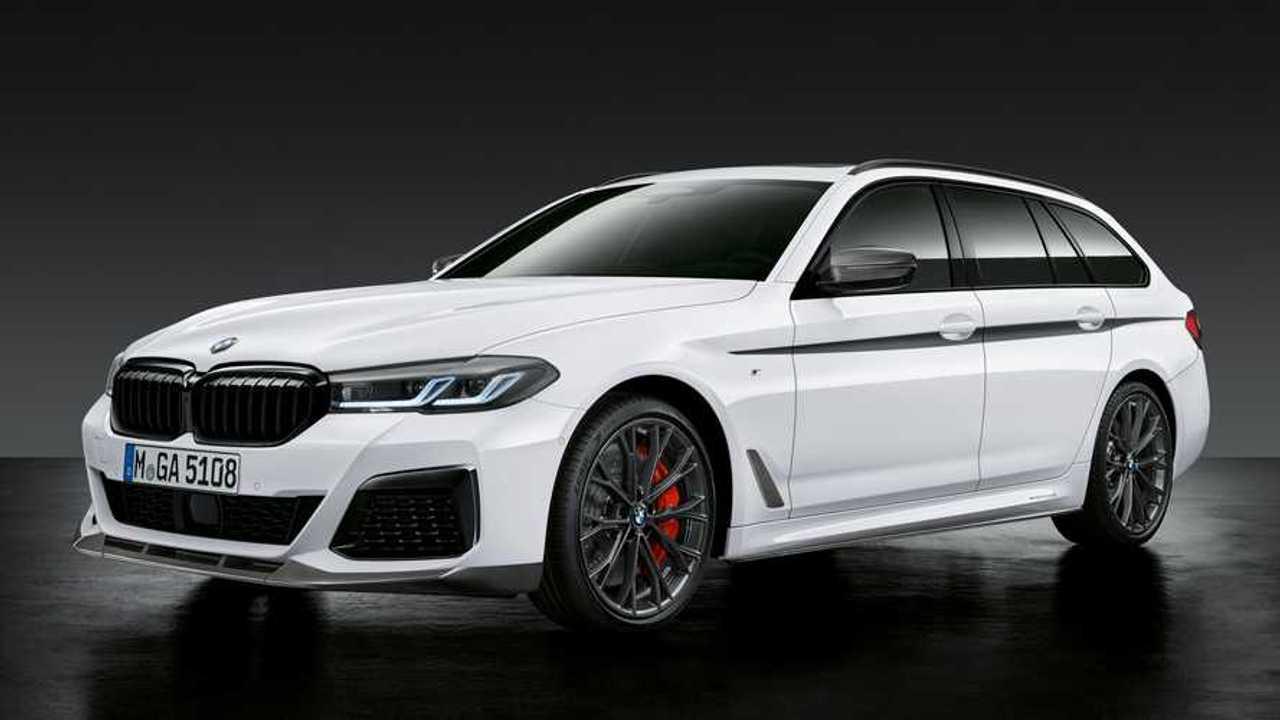 M teljesítmény alkatrészek a BMW 5-ös sorozathoz (2020)