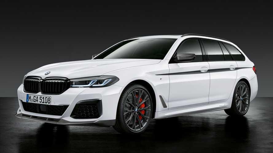 Még piacra sem kerültek, máris rengeteg kiegészítő érkezett a BMW M5-höz és az 5-ös sorozathoz