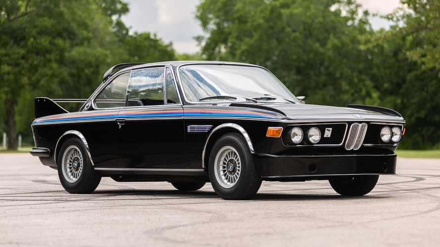 Este genial BMW 3.0 CSL, de 1972, se ha subastado por 150.000 euros