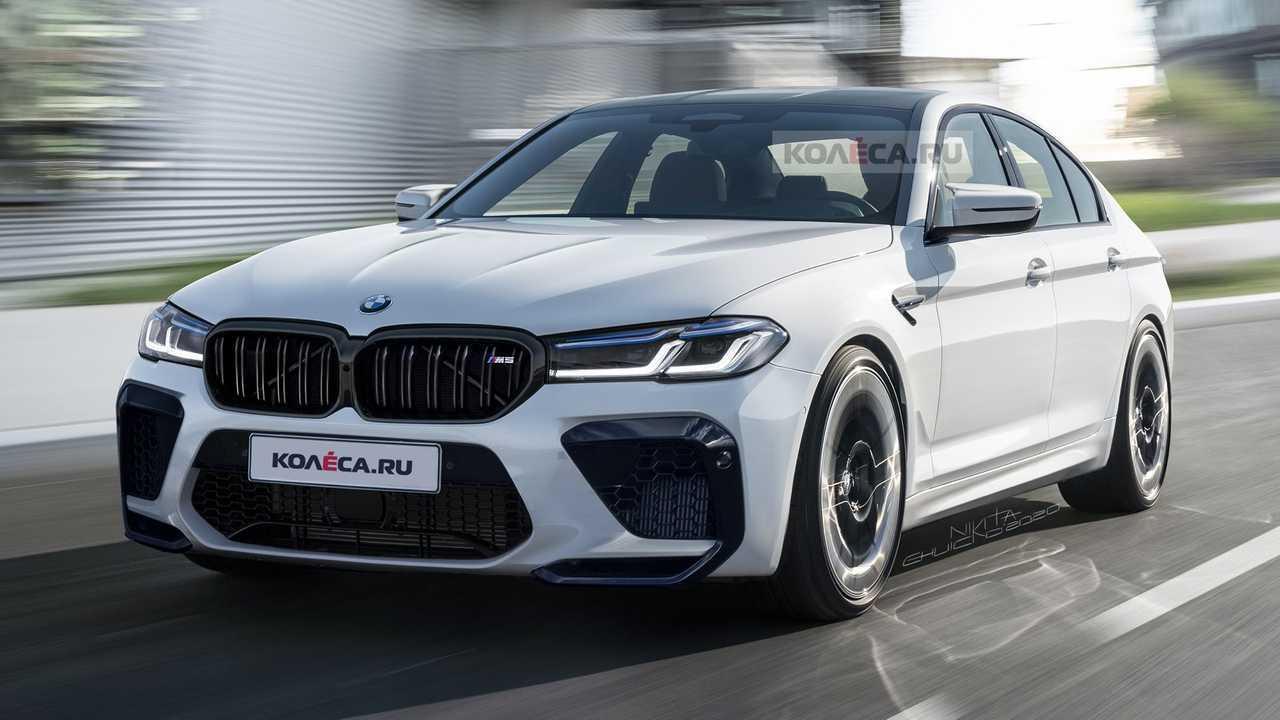2021 BMW M5 LCI renderelés