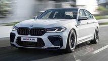 2021 BMW M5 LCI rendering
