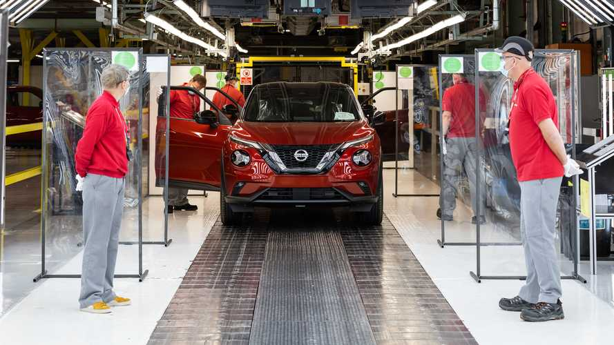 Production resumes at Nissan Sunderland