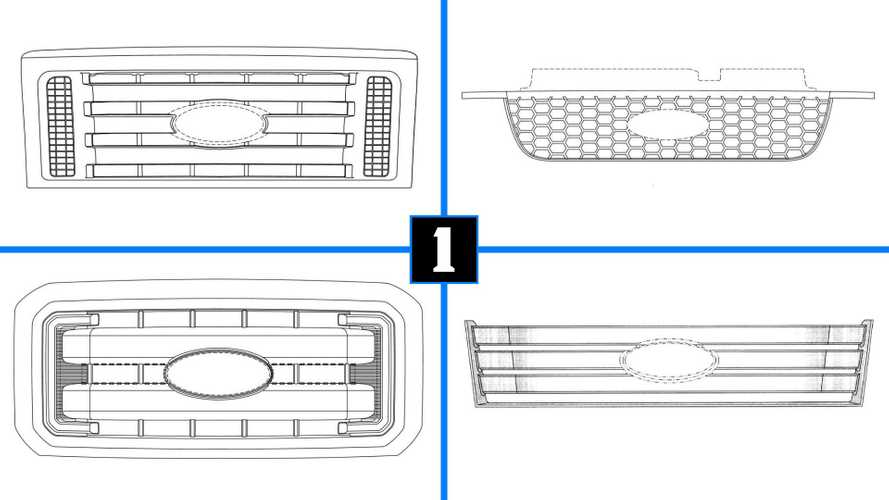 Ford Files To Trademark Four Grille Designs, But What For?
