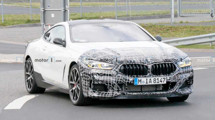 This BMW 8 Series could be hiding a mid-engine test vehicle