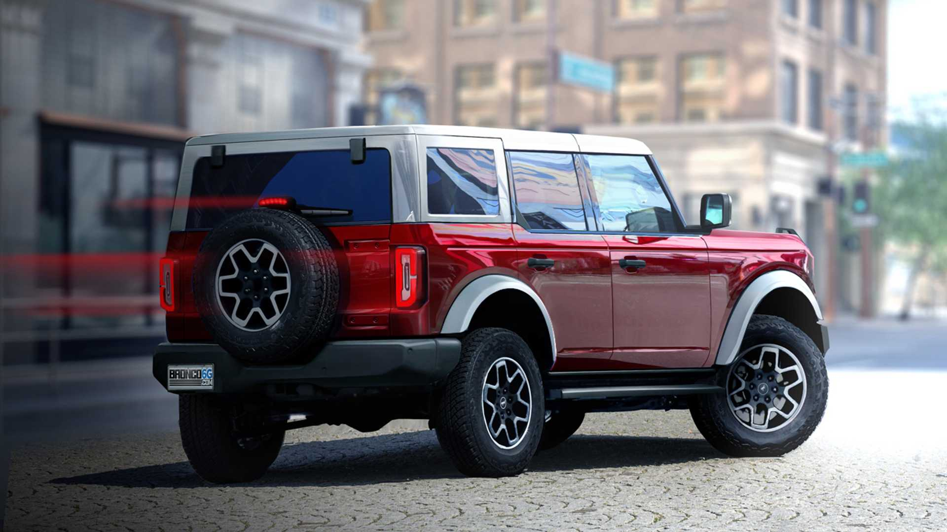 2020 - [Ford] Bronco VI - Page 3 2021-ford-bronco-4-door-renderings