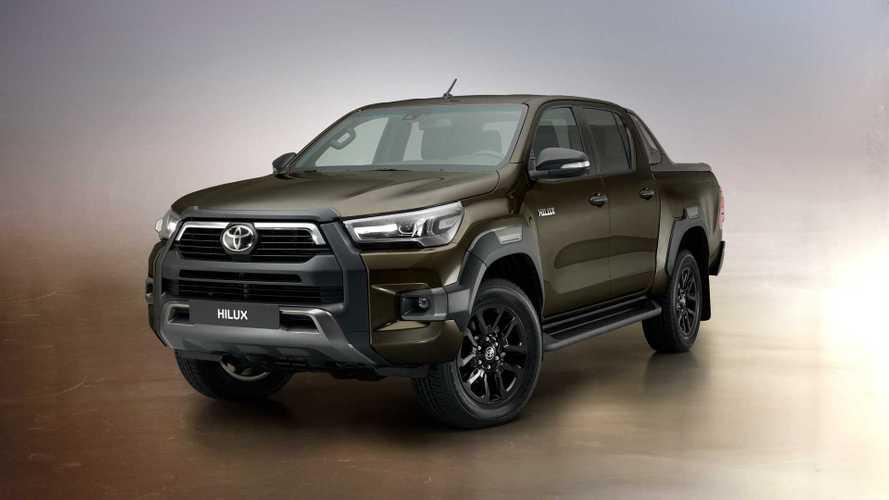 Toyota представила обновленный пикап Hilux