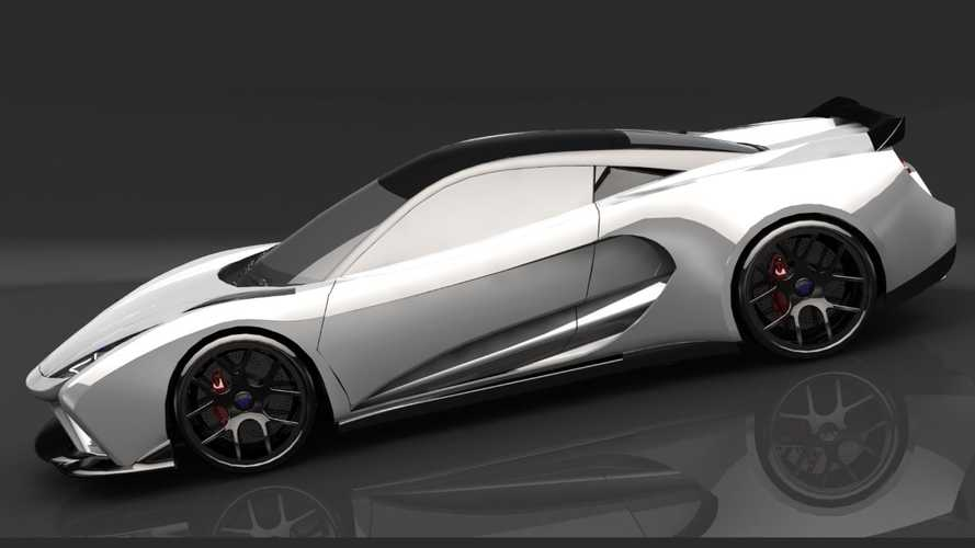Elektron One Electric Supercar Previewed With 1,341 Horsepower