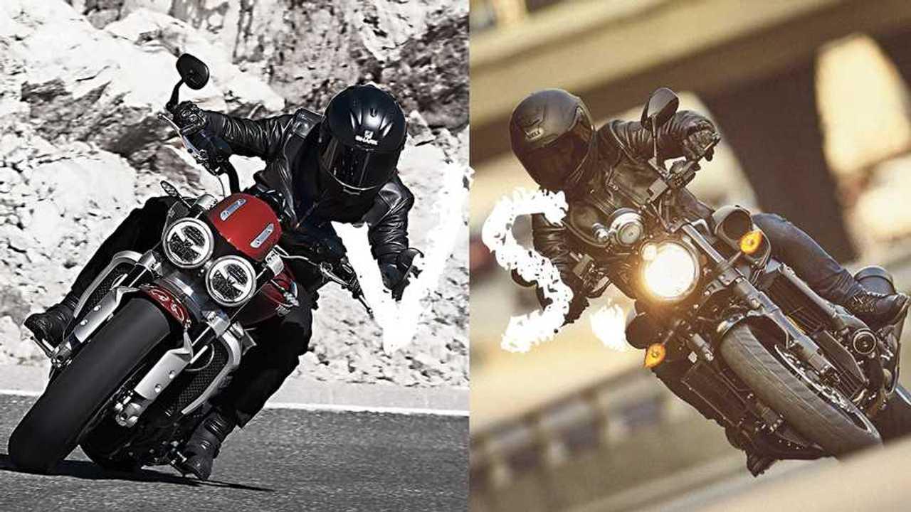 Triumph Rocket 3 vs Yamaha VMax