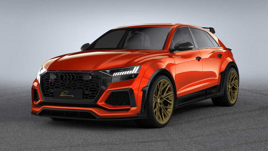 Audi RS Q8 By Lumma Gets Upgraded Look With Carbon Fiber Kit