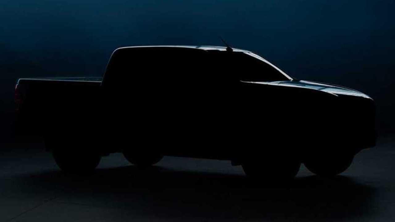 2021 Mazda BT-50 Pick-up Teaser