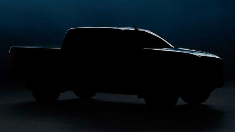 2021 Mazda BT-50 Pick-up Teaser