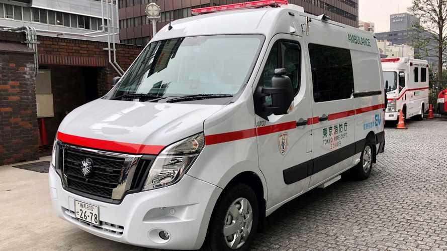 Nissan lancia l'ambulanza elettrica: ecco i dati