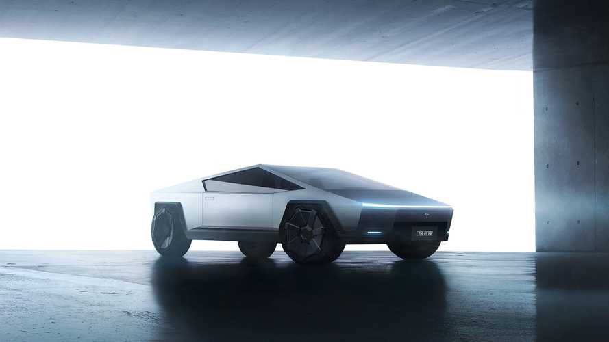 Check Out This Two-Door Tesla Cybertruck Transformed Into Coupe-Like Car
