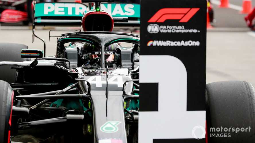 Hungarian GP: Hamilton on pole as Mercedes crushes rivals