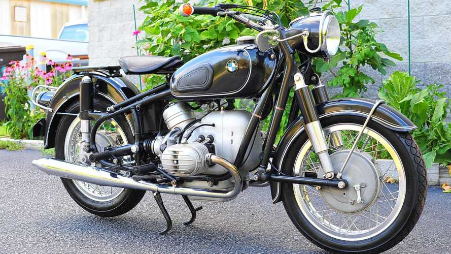 Ride In Retro Luxury With This 1965 BMW R50/2
