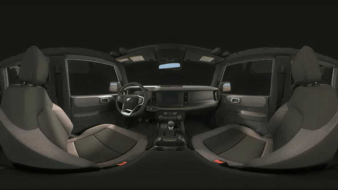 Ford Bronco Big Bend Interior 360 View 5098181