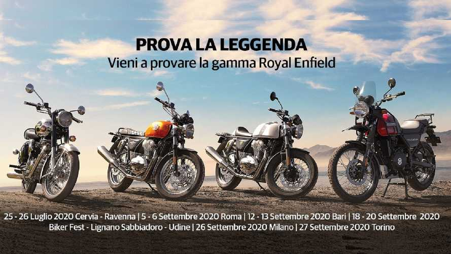 Royal Enfield Test Ride Tour 2020, appuntamenti in tutta Italia