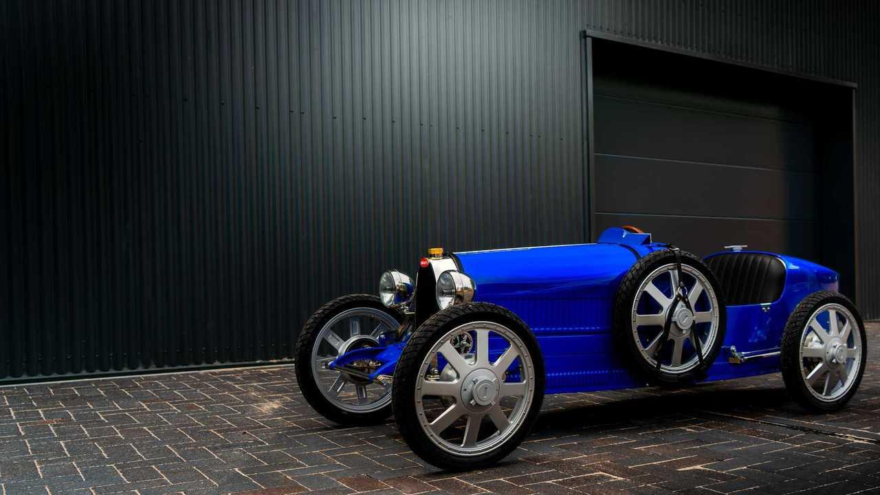 Versione di produzione Bugatti Baby (anteriore tre quarti)